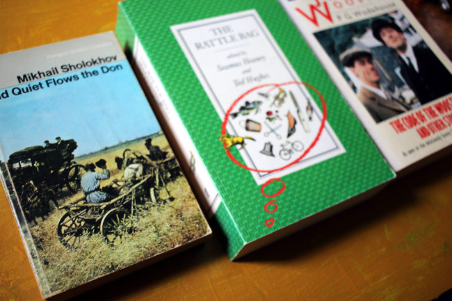 BOOKS: Quiet Flows the Don, The Rattle Bag, Jeeves and Wooster