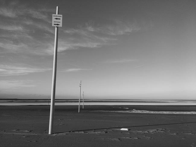 The beach at Burnham on Sea.
