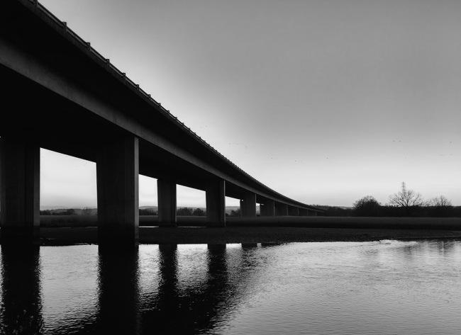 Motorway Bridge at Topsham.