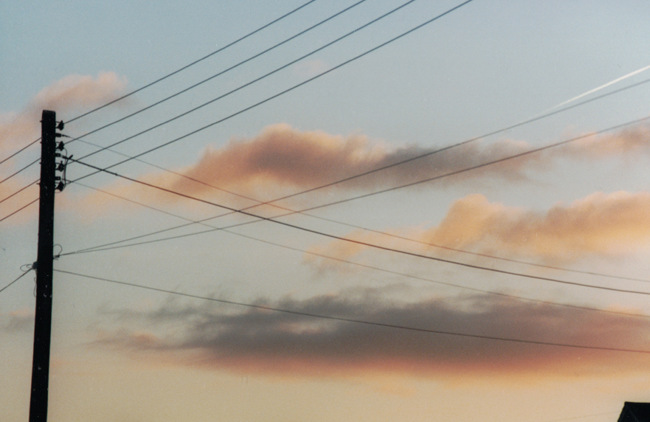 Bridgwater sky.
