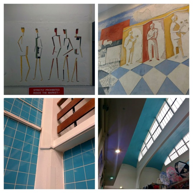 Murals and architectural details