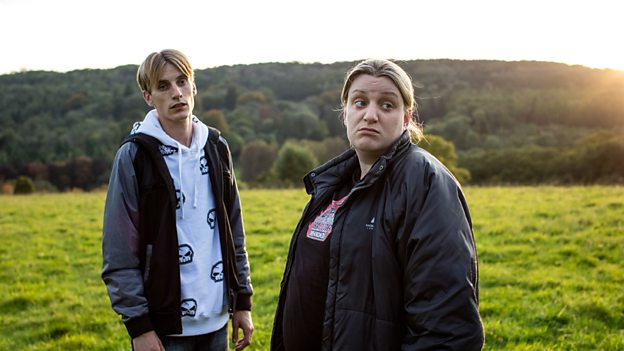 Daisy May and Charlie Cooper as Kurtan and Kerry Mucklowe.