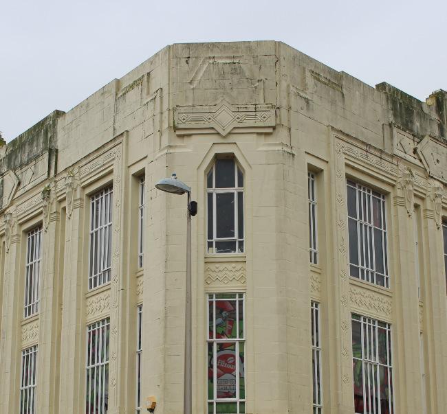 Former Burton's building.