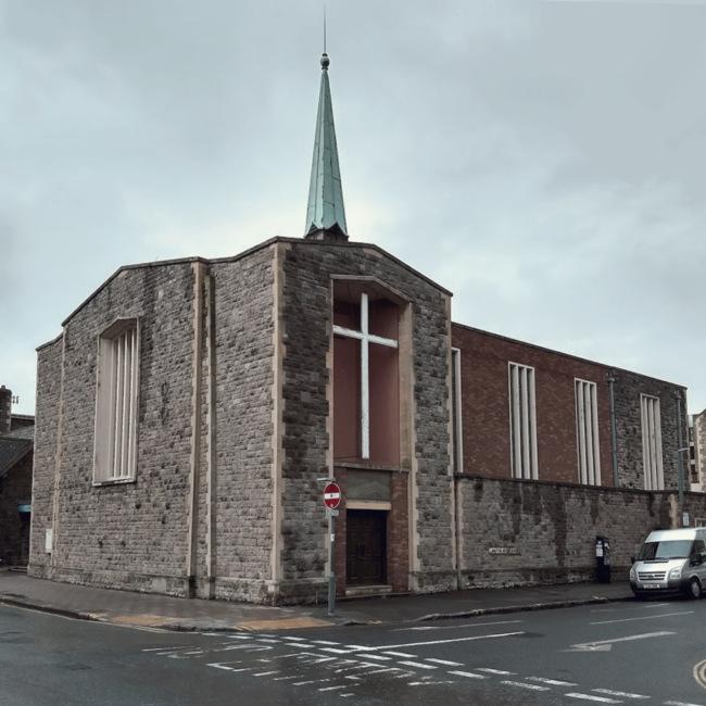 Post-war church.