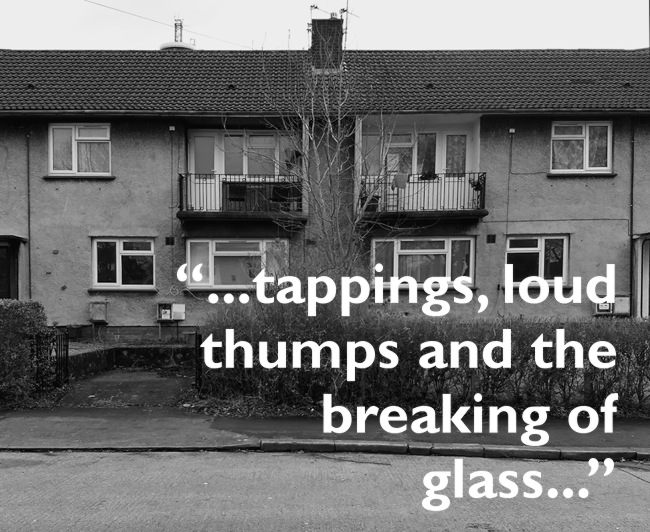 Council houses and pull quote from below.