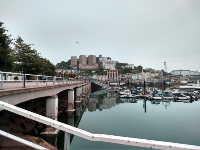 Torquay looking like the South of France.