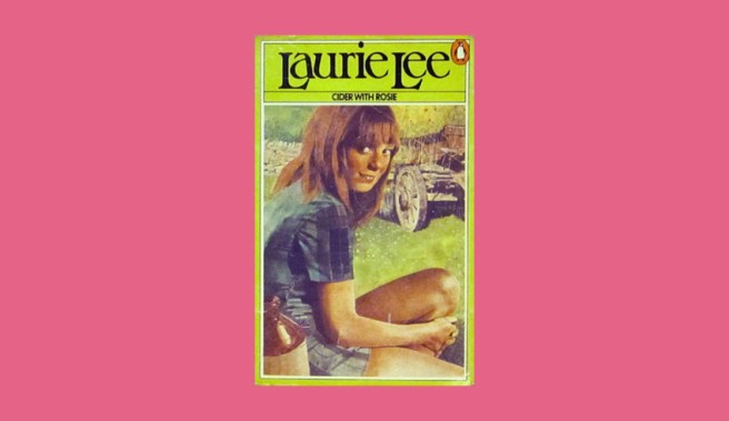 The cover of the 1973 edition of Cider With Rosie