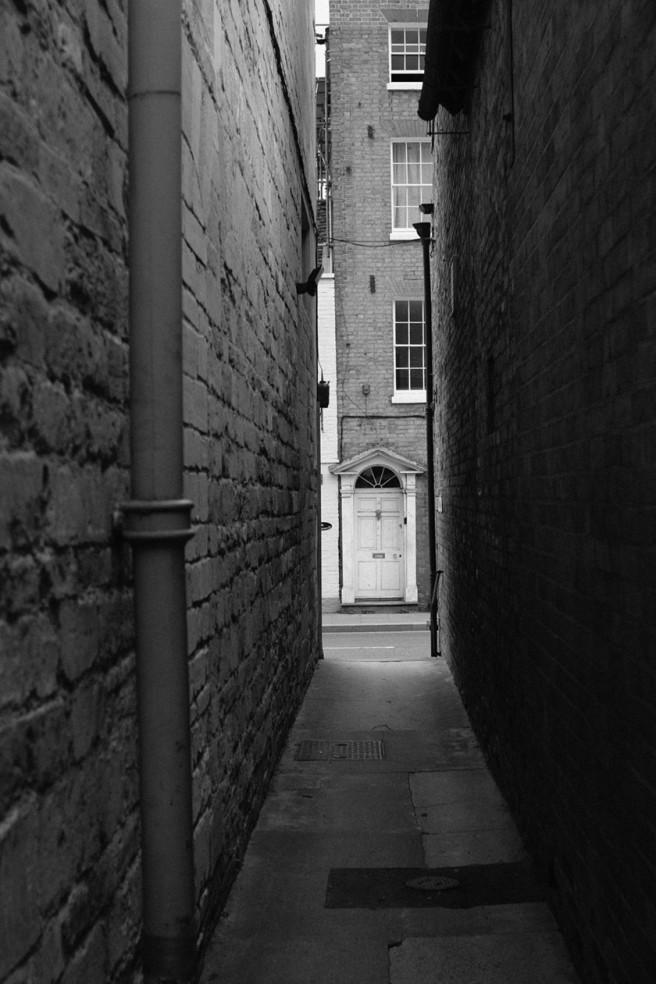 An alleyway near the abbey