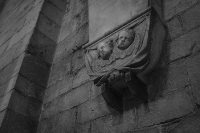 Cherubs in the abbey