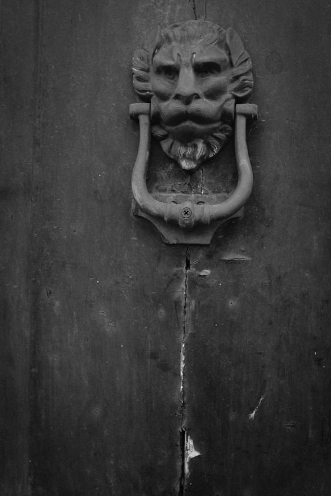 A beastly doorknocker