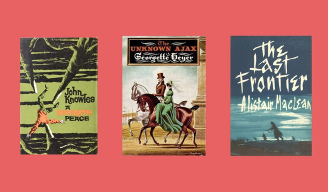 Covers of the three books.