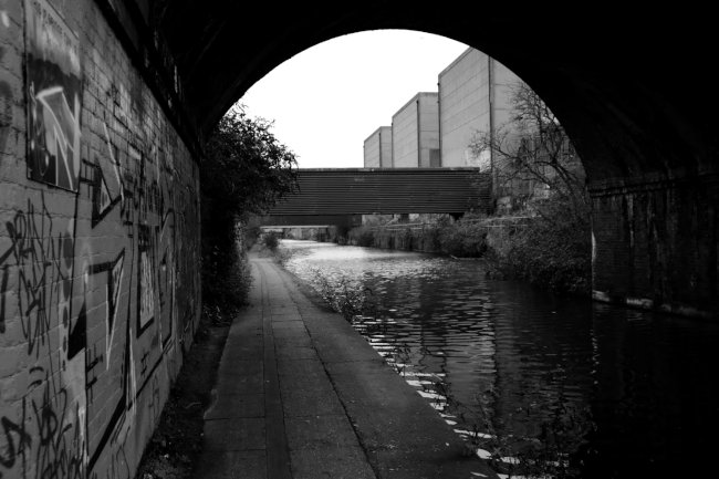 Canalside.