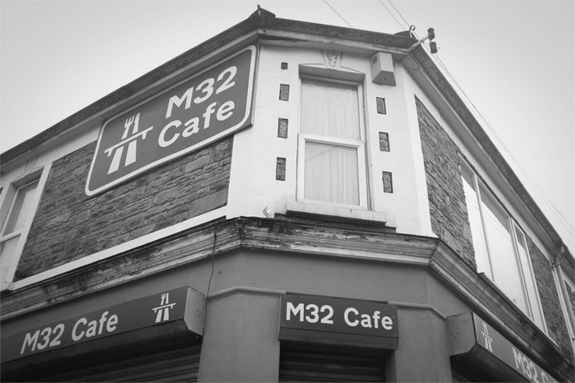 The M32 cafe.