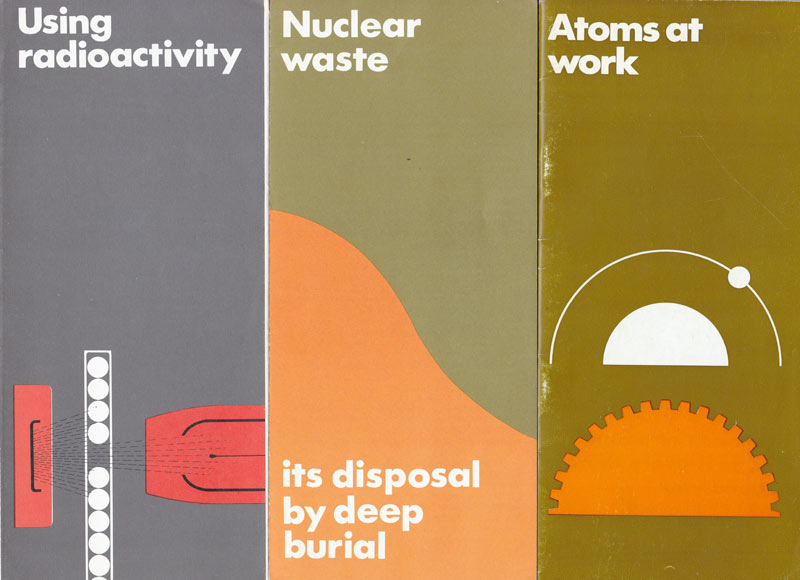 UK Atomic Energy pamphlets from the 1970s
